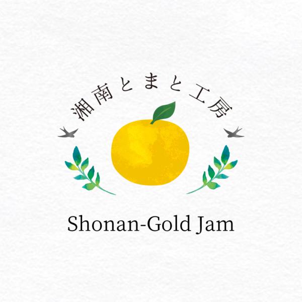 湘南とまと工房湘南ゴールドジャムロゴ